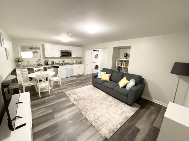 Bright and Cozy   Deluxe   1 bed &1  Sleeper Sofa