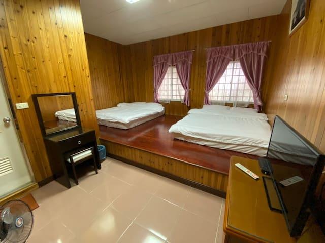 Alishan阿里山綠香茶園民宿(合法民宿)Room B