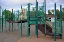 Playground of Palo Verde Park 3 minutes away