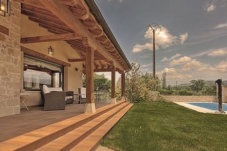 Casa con piscina a 25 mín de Segovia