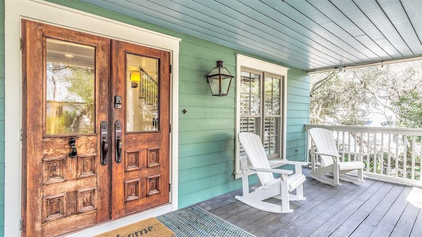Sip on sweet tea on this peaceful porch
