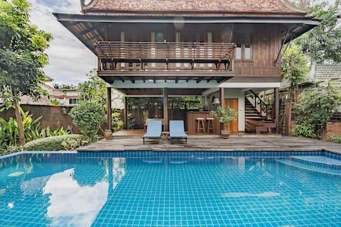 Mirno kopališče Villa Guest Suite