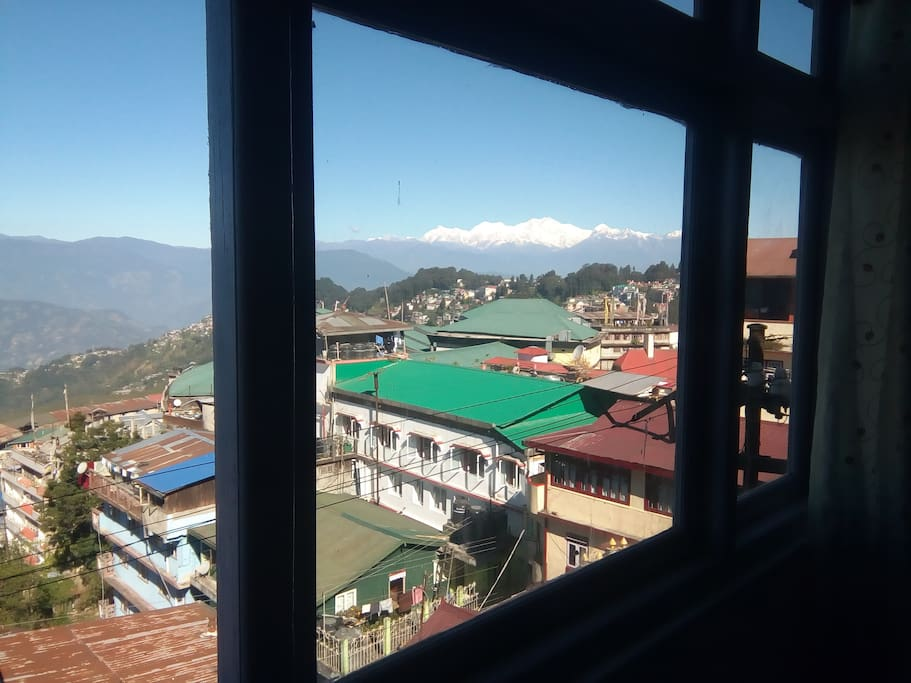 Kanchenjunga View from the window