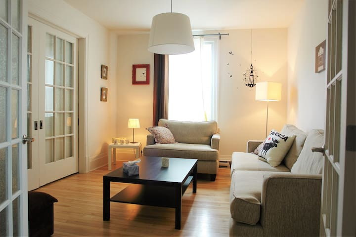 Superbe appartement- Coeur de ville - Ville de Québec - Apartamento