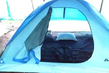 Get relaxed in safe tents