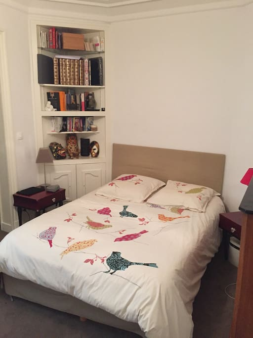 chambre lit double 140/190