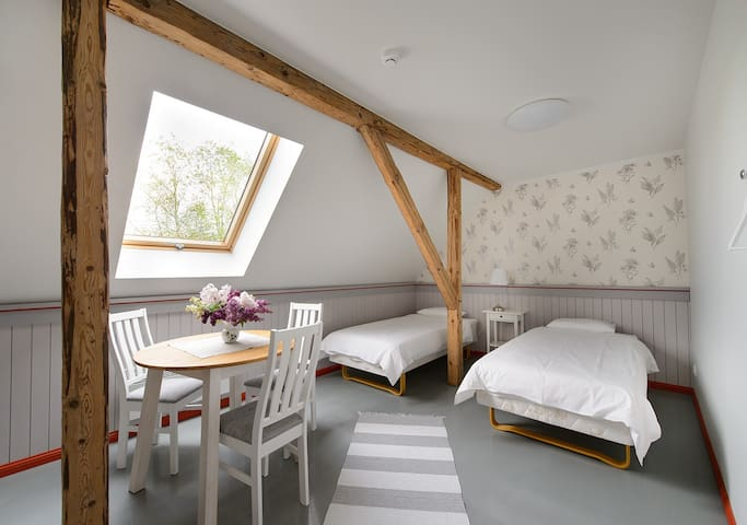 Modern guestrooms in a holidaycenter