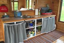 Comptoir et accessoires pour préparez vos repas