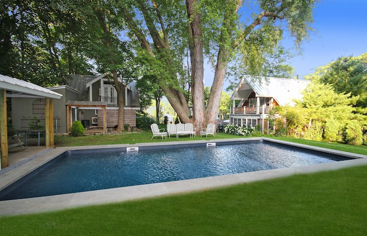 Sag Harbor,  Hamptons Compound w/ Heated Pool