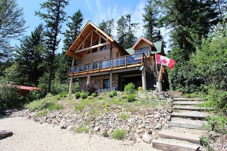 """LOG IN""  on  Little Shuswap lake - Fully equipped - Chase - Cottage"