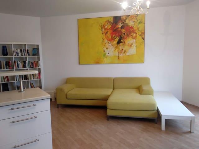 Original spacious atypic apartment.