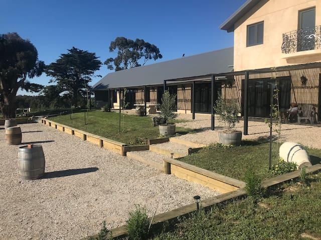 Lauriston Estate Vineyard, The Lodge Suffolk