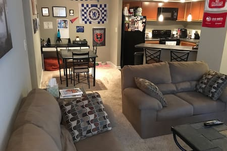 Private 1BR / 1BA Apt. in Buckhead - Apartamento