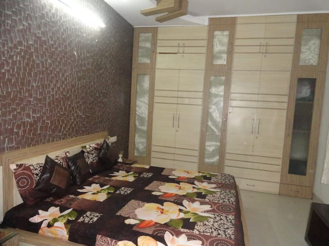 Spacious private room with large private washroom