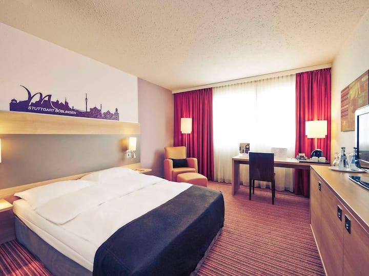 Komfortables Zimmer in Böblingen 1 (Mercure Hotel)