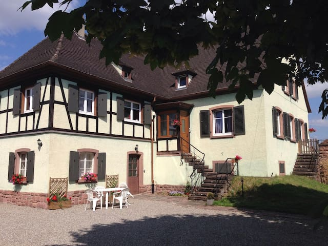 """Gîte """"Les Erables"""" - Sigolsheim - Huis"""