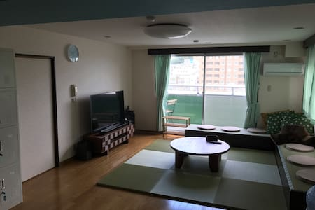 8 minutes on foot from Tokushima ST.Good location.
