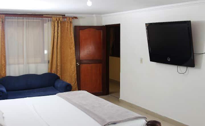 Habitacion en Hotel Caldas Plaza