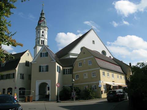 Estúdio agradável e tranquilo nos subúrbios de Munique