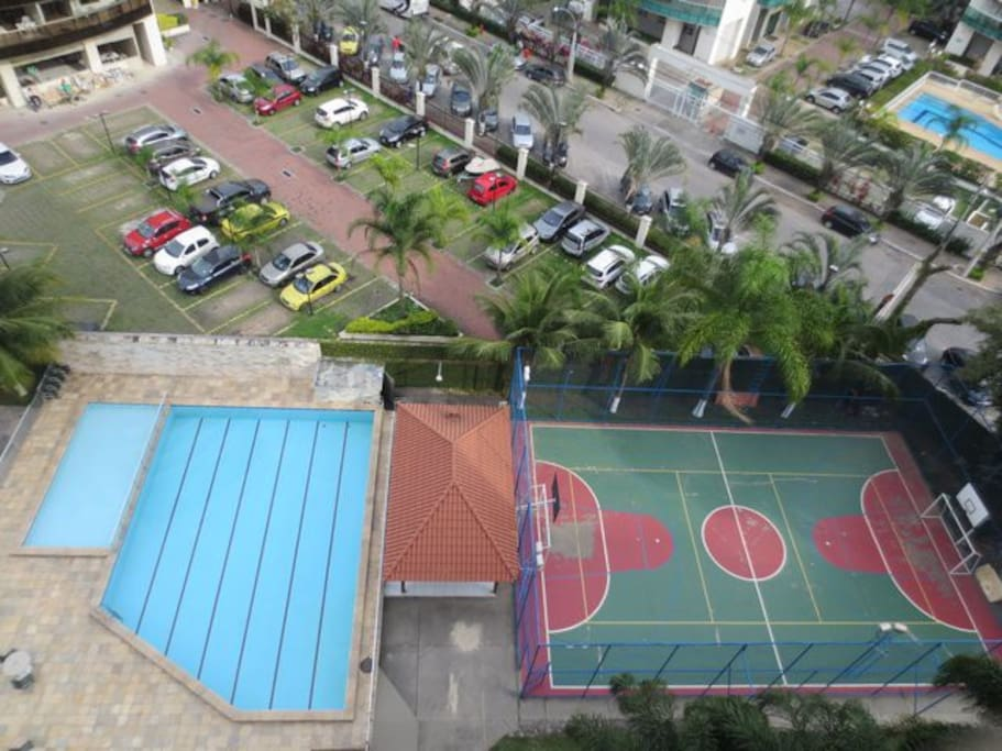 Swimming pools, BBQ area and 5-a-side