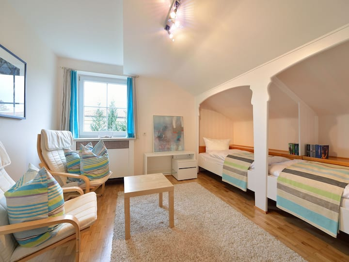 Villa Rana, (Lindau am Bodensee), Doppelzimmer Libelle