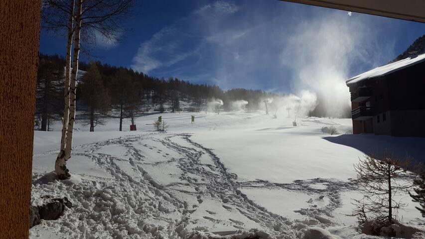 Splendido alloggio sulle piste da sci! - Montgenèvre - Appartamento