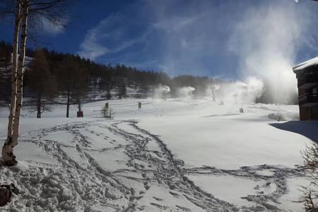 Splendido alloggio sulle piste da sci! - Montgenèvre