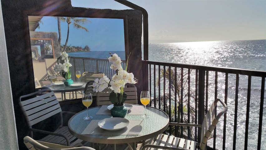BREATHTAKING OCEANFRONT, BEAUTIFUL INSIDE AND OUT!
