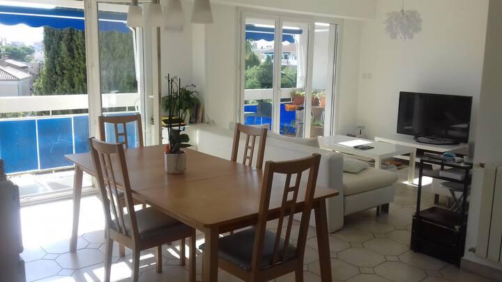 Appartement T3 75m2 Climatisé parc Olbius Riquier