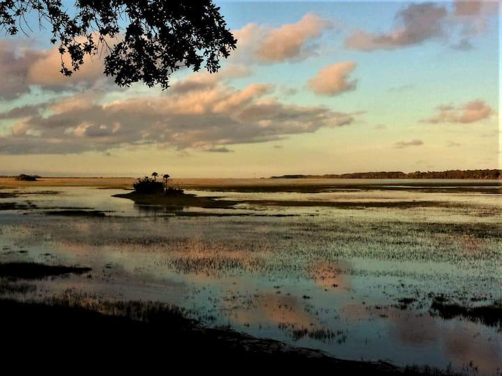 Spectacular Marsh and Sunrise Views!