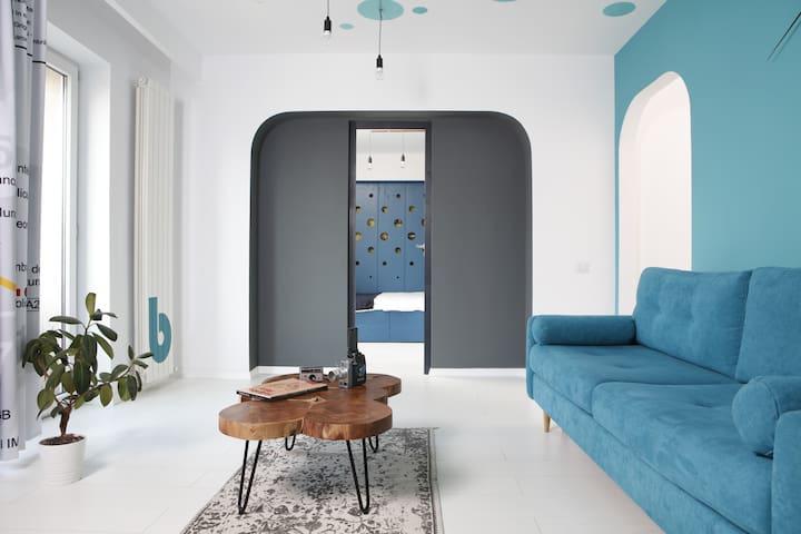 Architect's Dream - Spacious bright flat +Netflix