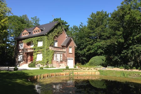 Character cottage in the heart of a large park - Coulogne - Talo