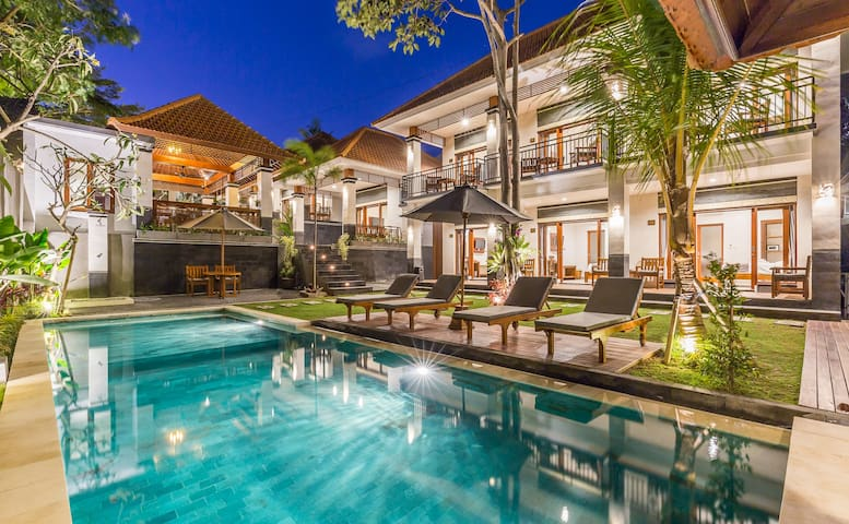 Upscale Balinese Concept Living In Berawa Canggu