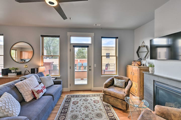 NEW! Downtown Salida Condo w/Deck, Steps to River!