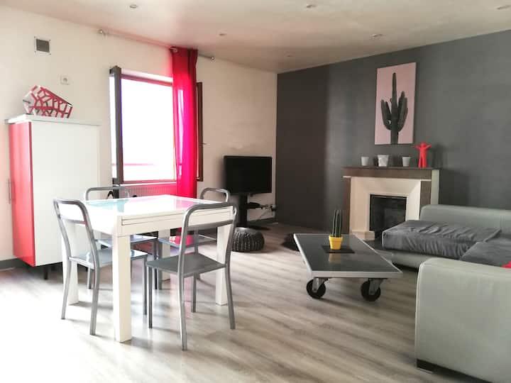 Appartement T2 complet, Coeur de ville Bd Meynot