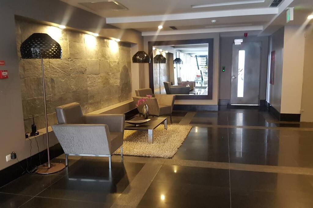 QUO Luxury Apartment Lobby