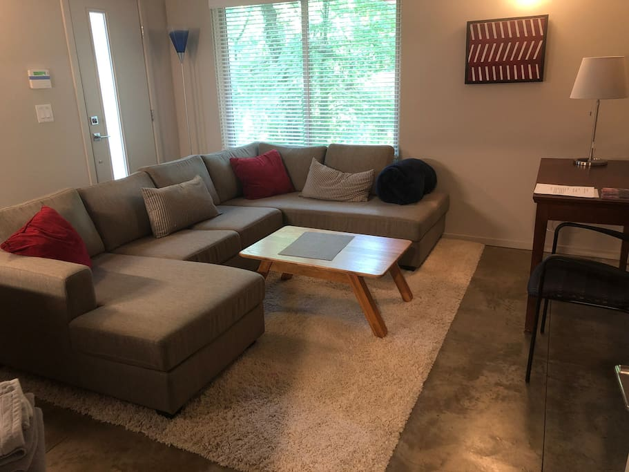 Living Room and desk