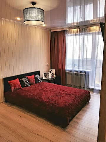 Уютная , однокомнатная квартира с евроремонтом.