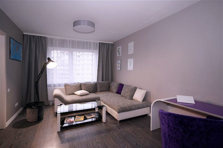 Apartment 60 m, Free Parking, High Speed Internet