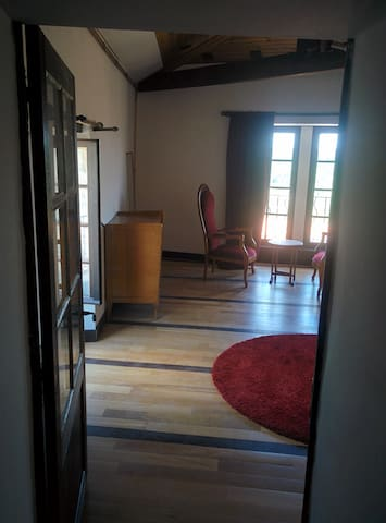 duplex apartment in the heart of the medieval town - Chauvigny - Apartemen