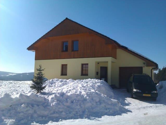 Luxe ruime villa in prachtig Lipno