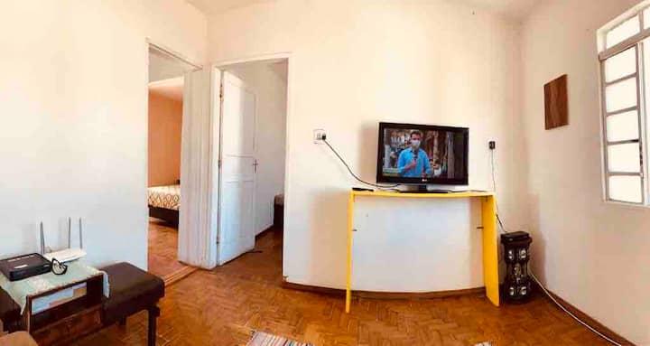 Apartamento temporada e mensal mobiliado