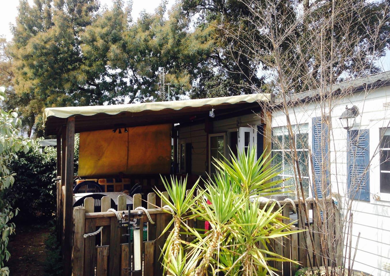 CAPBRETON: Mobile Home dans camping 3*  (vélos)