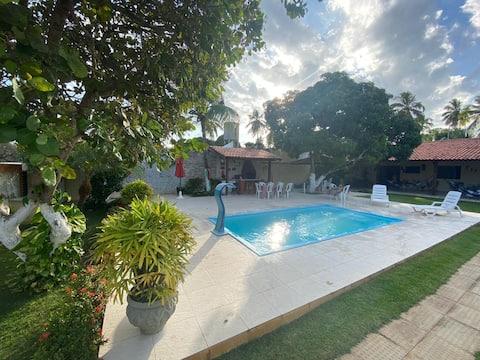 Casa de Praia Sonho Verde I, 4 Suítes