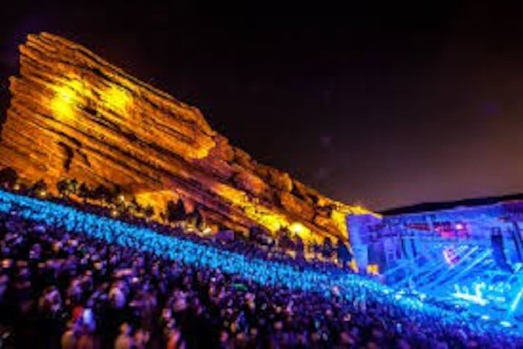 Close to Red Rocks Amphitheater