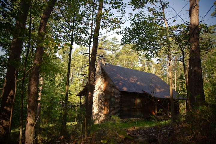 Turtle Run: Secluded 6 acre cabin in Hocking Hills