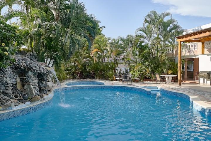 Villa las orquídeas con piscina privada