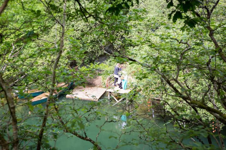 Lake View 1 - Wild Camping - Private Pitch