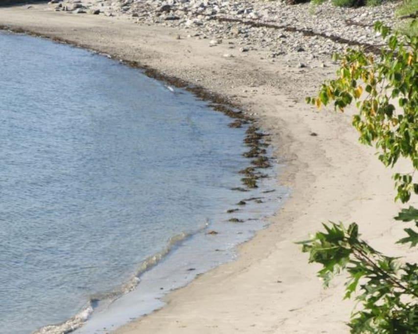 Little Beach, a few steps from front door