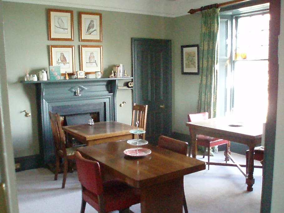 Dining Room and Breakfast room